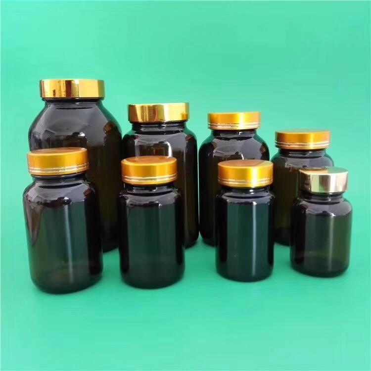茶色胶囊瓶